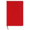 A5 block note w/ squared paper in red