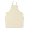 Adjustable apron                in beige