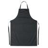 Adjustable apron                in black