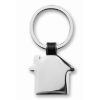 House shaped key ring           in black