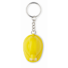 Key ring with torch in yellow