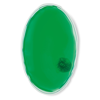 Heat pad                        in transparent-green