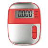 Pedometer                       in red