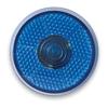 Round Blinking Led Light in blue