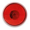 Round Blinking Led Light in red