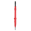 27 Inch Unicolour Umbrella in red