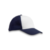Polyester 5 Panel Baseball Cap in blue