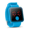 Red Led Watch in turquoise