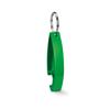 Keyring bottle opener           in lime