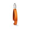 Keyring bottle opener           in orange