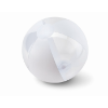 Inflatable beach ball           in white
