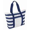 Beach Bag Striped in blue