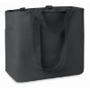 Shopping Bag In 600D Polyester in black