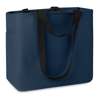 Shopping Bag In 600D Polyester in blue