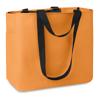 Shopping bag in 600D polyester  in orange