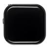Eu Plug & Usb Port Car Charger in black