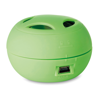Mini Speaker With Cable in lime