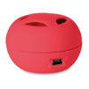 Mini Speaker With Cable in red