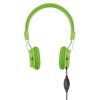 Headphones in lime