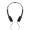 Foldable Headphone In Pouch    Mo8732-03 in black