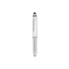 Stylus Pen With Torch in white
