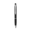 Aluminium pen with stylus in black