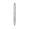 Aluminium pen with stylus in matt-silver