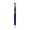 Aluminium pen with stylus in royal-blue