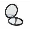 Double sided compact mirror in black