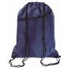 Large drawstring bag            in blue