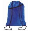 Large drawstring bag            in royal-blue