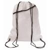 Large drawstring bag            in white