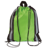 Reflective Drawstring Bag in lime