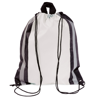 Reflective Drawstring Bag in white