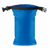 Water resistant bag PVC small in royal-blue