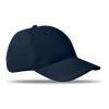 6 panels baseball cap in blue