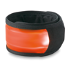 Arm snap strap with light in orange