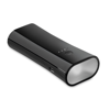 2 in 1 Powerbank and torch in black