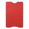 RFID Credit card protector in red
