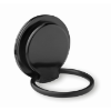 Phone Holder On Ring Stand in black