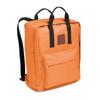 600D Polyester Backpack in orange
