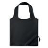 210D Foldable bag in black
