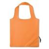 210D Foldable bag in orange