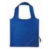 210D Foldable bag in royal-blue