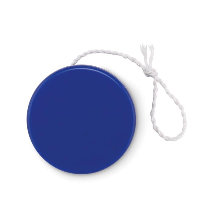 Plastic yoyo in royal-blue