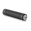 Cylinder Shape Powerbank in black