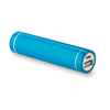 Cylinder Shape Powerbank in blue