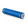 Cylinder Shape Powerbank in royal-blue