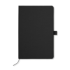 A5 Notebook With Paper Cover in black