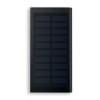 Solar Power Bank 8000 Mah in black